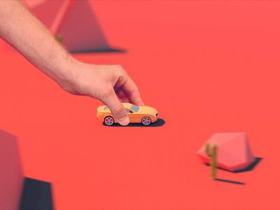 Autolog autolog car 3d animation short cinema4d
