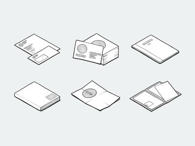 Stationery Icons/Illustrations