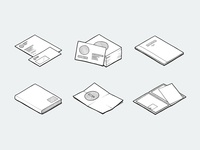 Stationery Icons/Illustrations