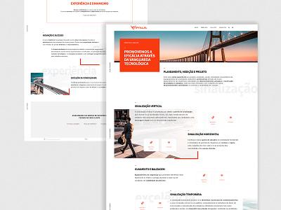 Site - Versus road signs street road red signage webdesign web