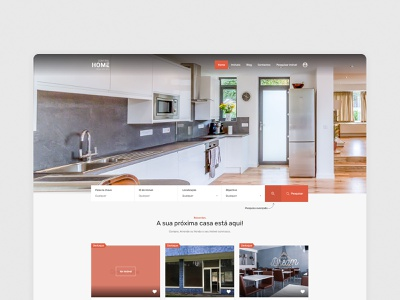 Site - Control Home real estate webdesign web