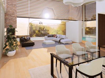 3D - Interiors interiors architecture 3d