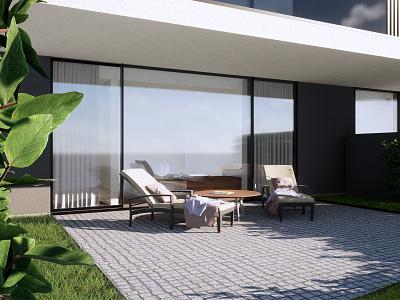 3D - Exteriors architecture house living home 3d