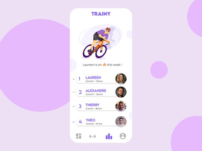 Daily UI 019 • Leaderboard georget marine daily uiux web webdesign 019 app uimobile ux ui uidesign