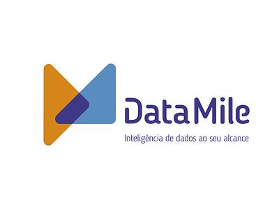 DataMile - Logo for a Data Inteligence Consulting Company symbol logotype icon logo design logo brand