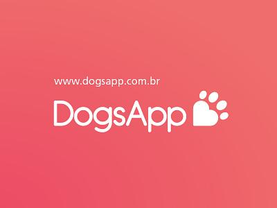 Dogsapp logotype app icon icon brand logo