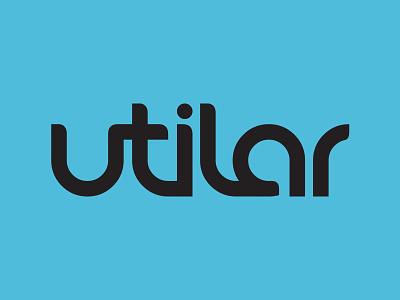 Utilar logotype brand logo