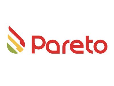 Pareto - Food delivery logo design icon