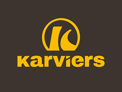 Karviers cars branding redesign logo design