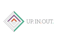 Up. In. Out. Logo