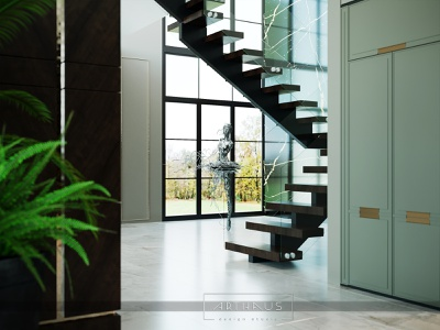 Interior Design Stairs design interiors inspiration architecture 3dsmax 3d artist visualization interiordesign designer 3d