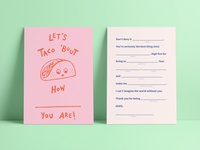 let's taco 'bout how ____ you are