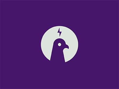 Pigeon 2 pigeon bird purple another goddamn lightning bolt killed