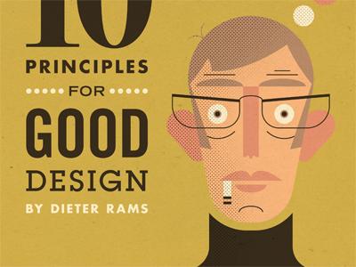 Dieter Rams dieter rams illustration glasses