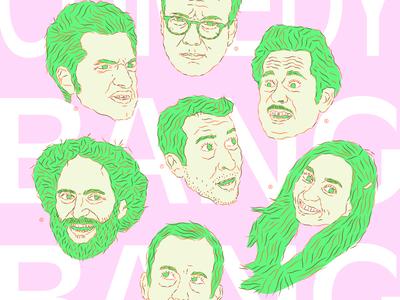 Comedy Bang Bang Poster sclusie poster comedy bang bang