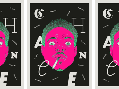 Chance poster chance the rapper