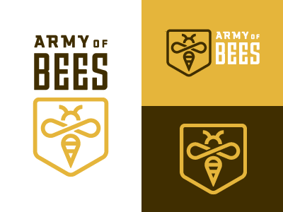 Army of Bees 1 logo bee army