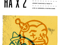 HA x 2 Poster