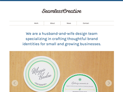 New Placeholder web website interactive site responsive