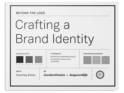 New Skillshare Class! design brand identity class skillshare