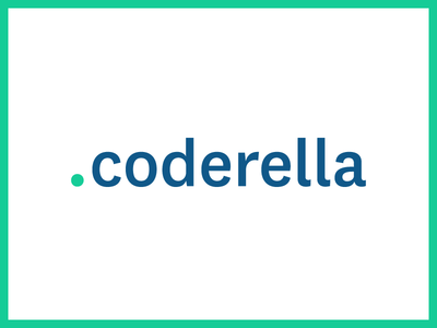 Coderella Logo public relations identity brand pr tech logo