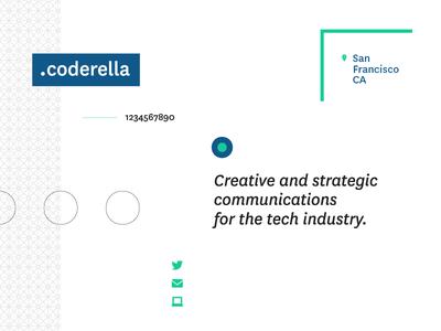 Coderella Brand Collage public relations identity brand pr tech