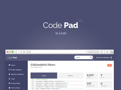 Code Pad V2 - Launched