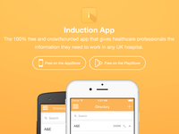 Induction App - Website