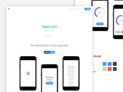 Portfolio 2017 - App Page mobile app app icons ui website