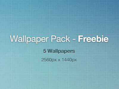Wallpaper Pack - Freebie