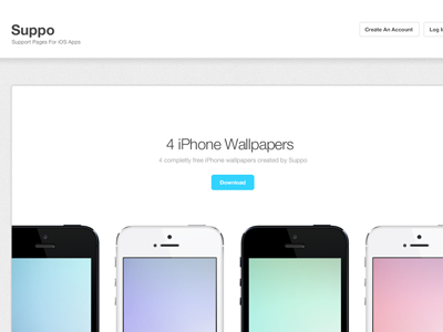Suppo Wallpapers Freebie Page web ui iphone freebie wallpapers iphone wallpaper wallpaper freebie download