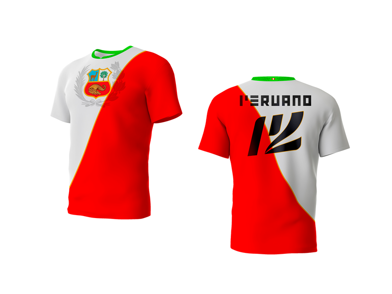 P12 T Shirt tshirt draft perú
