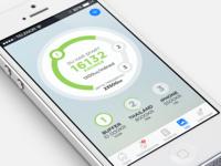 Spendific goals progress bar ux ui mobile