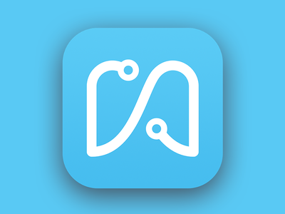 Weengs App Store Icon branding logo weengs mobile app icon