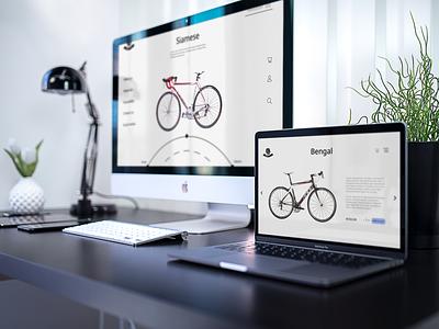 Roar bike website web ui ux uiux app figma design