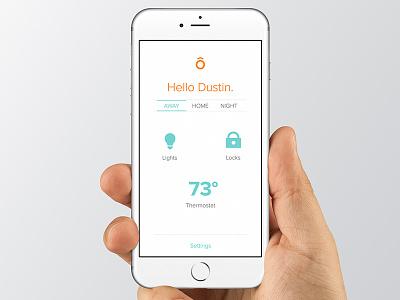 Home Screen Improvements white clean menu design interface ui iphone ios application app home home screen