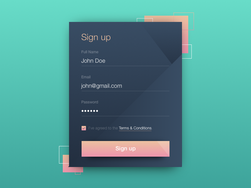Daily ui  1   sign up