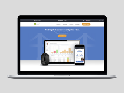 Daily UI 003 - Landing Page enterprise landing page web website design interface ui daily