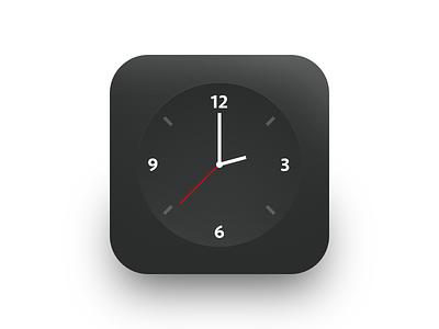 Daily UI 005 - App Icon clock iphone ios app icon design interface ui daily