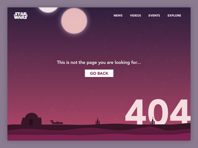 Daily UI 008 - 404 Page website landing page web page 404 design interface ui daily