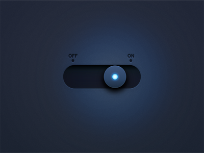 Daily UI 015 - On/Off Switch sketch photoshop toggle switch button design interface ui daily