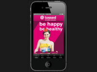 Tossed Mobile app
