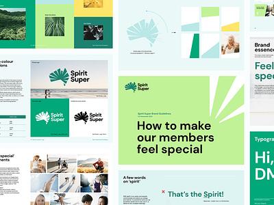 Hulsbosch - Spirit Super brand identity animation typography logo design branding