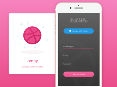 Daily UI Challenge #001_Sign Up