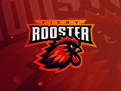 Fiery Rooster
