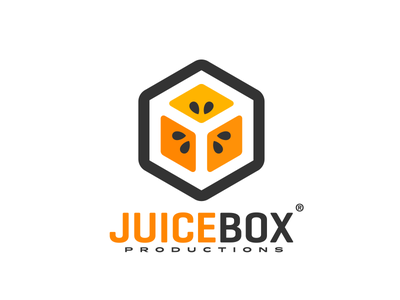 JuiceBox Productions fruit smart logo productions juicebox box juice