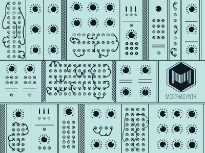 Morphasynth synthesizer music morphasynth darks blue