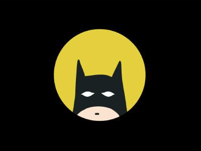 Catman comics fan art illustration yellow black catman batman