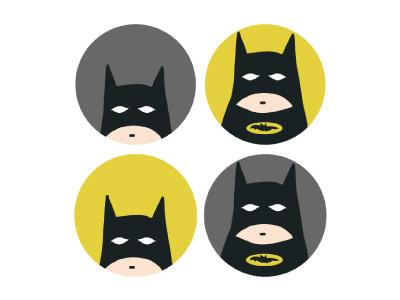 Catman cat yellow illustration fan art comics catman black batman