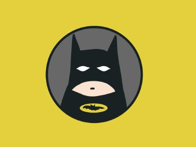 Catman yellow illustration art fan comics catman black batman